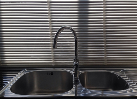 shiny metal: New kitchen sink