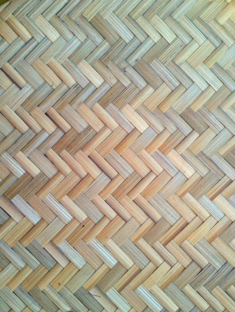 weave: Thai handcraft of bamboo weave pattern for background use