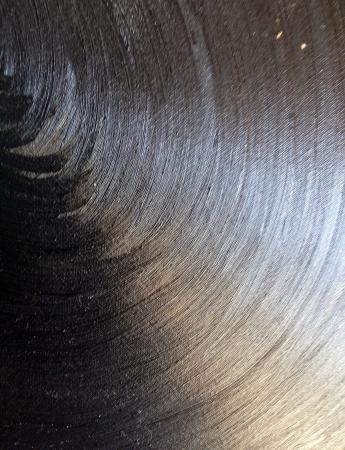 canvas: Black canvas grunge background texture Stock Photo