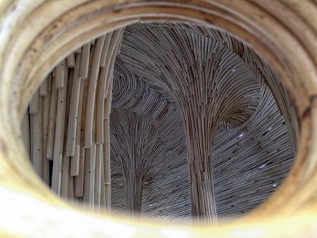 detail: rattan pattern background Stock Photo