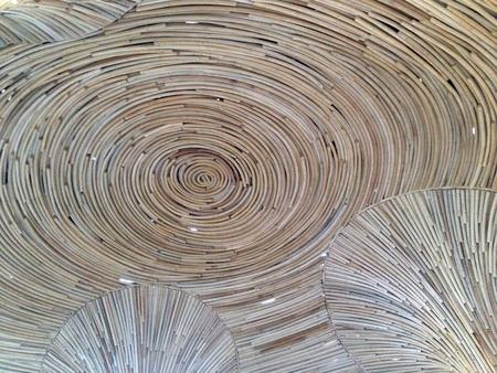 rattan pattern background Stock Photo