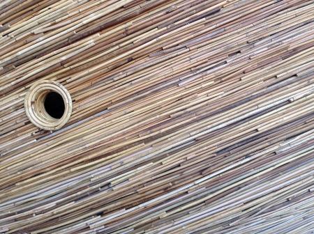 woven: rattan pattern background Stock Photo