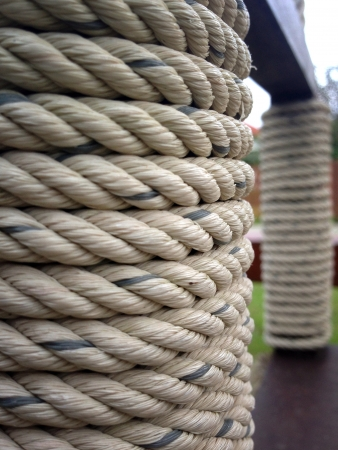 cotton fabric: Rough rope background