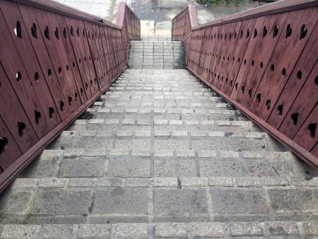 dark: staircase Stock Photo