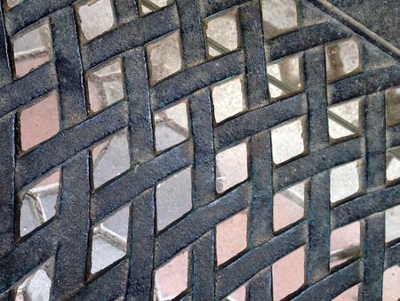 shiny metal: metal mesh texture