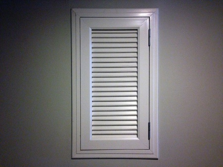 traditional textured: White window on the wall