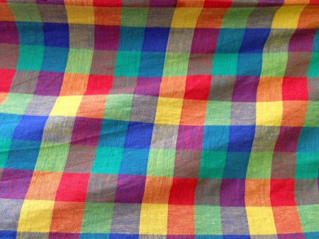 cotton fabric: colorful fabric texture