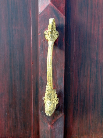 detail: wood art design