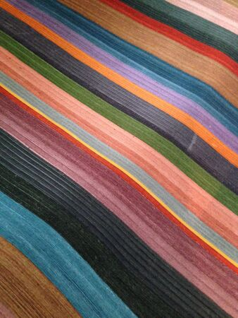 casual: colorful fabric textures