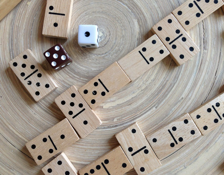 set of dominoes photo