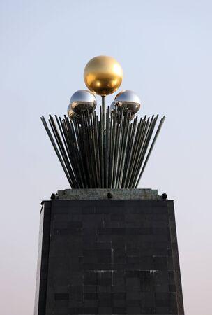 metal sculpture: scultura in metallo Editoriali