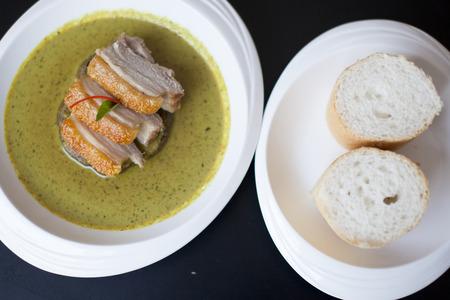 Green Curry with Crispy Pork photo