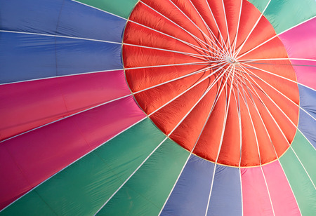 Abstract color background of closeup into balloon photo