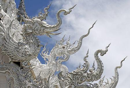 Traditional Thai style stucco texture Stockfoto