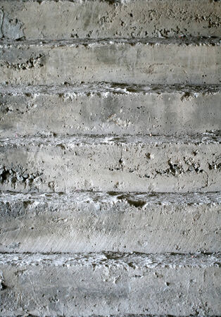 Concrete or cement stairs Stockfoto