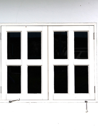 White window photo