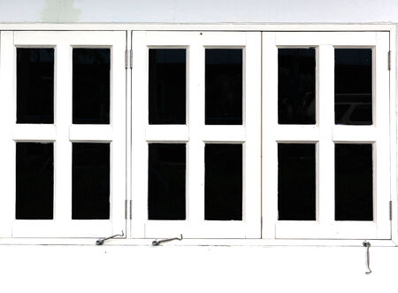 White window photo