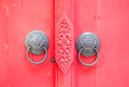 old vintage door pull