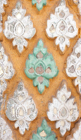stucco texture: Traditional Thai style stucco texture