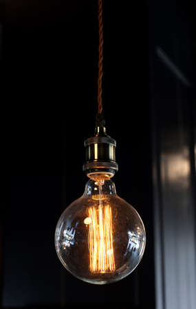 edison: Lighting decoration with vintage bulbs - eclectic interior