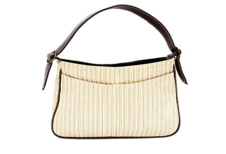 designer bag: womens designer handbag on a white background.