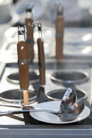 ladles: professional metal pots cooker with ladles
