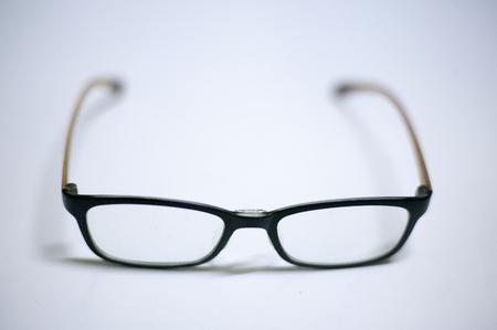 Black and orange Eye Glasses Stock Photo