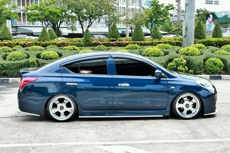 chrome: Blue car ECO VIP style