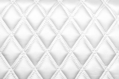 レザー ダイヤモンド ストライプ ブラウン色テクスチャ背景白色 写真素材