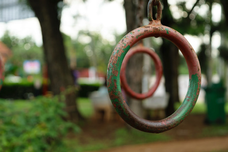 rusted: Rusted Iron Ring playground