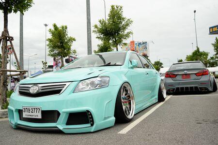 mag: Bangkok, Thailand - June 27, 2015 : VIP car Thailand car show in the VIP style mag. meeting no.1 at the MEGAbangna, Bangkok