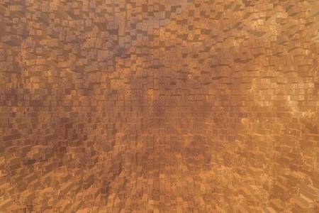 rust metal: Metal rust wall texture background, 3d block style
