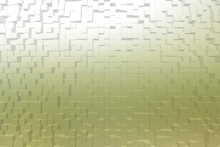 frosted glass: Frosted glass texture background yellow color, 3d block style