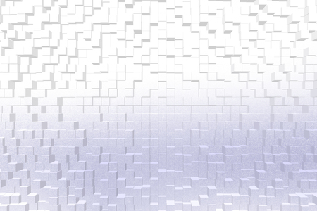 color 3d: Frosted glass texture background blue color, 3d block style Stock Photo