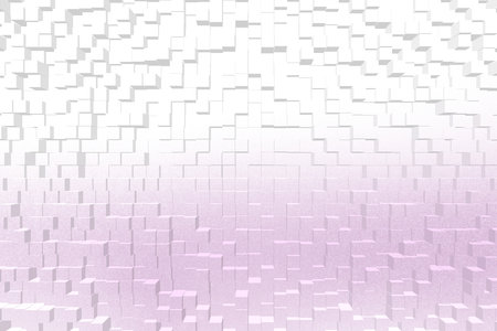 color 3d: Frosted glass texture background magenta color, 3d block style Stock Photo
