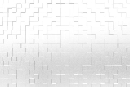 color 3d: Frosted glass texture background white color, 3d block style