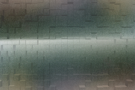 frosted glass: Frosted glass texture background effect 3d block style Stock Photo