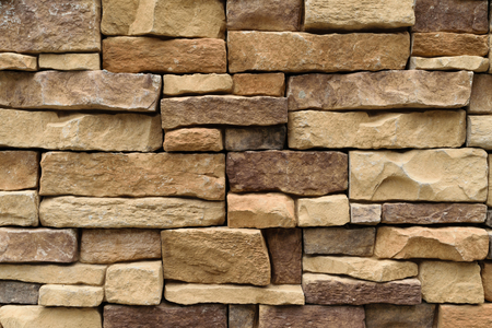 stone wall texture: Stone wall texture background natural color Stock Photo
