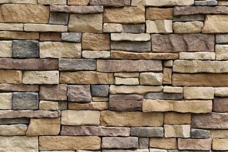 Stenen muur textuur achtergrond oppervlak natuurlijke kleur Stockfoto - 46981881