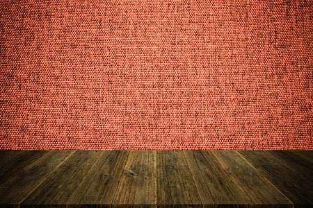 natural process: Wood terrace and Fabric texture background surface natural color , process in vintage style Stock Photo
