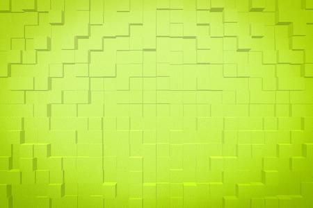 Abstracte grafische illustratie art design achtergrond effect 3d blok extruderen stijl