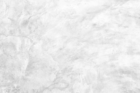 Polished bare concrete wall texture background surface white color Archivio Fotografico