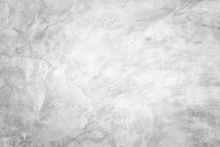 Polished bare concrete wall texture background surface white color Standard-Bild