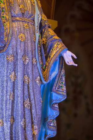 immaculate: The Virgin Mary statue at The Cathedral of the Immaculate Conception is a Roman Catholic Diocese