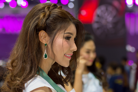 Bangkok, Thailand - December 11, 2016 : Unidentified model on display in Car show event at Bangkok, Thailand. This a open event no need press credentials required. Editorial