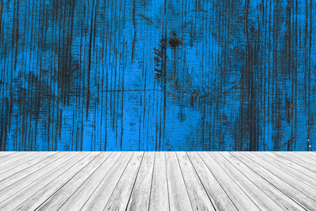 Wood texture surface natural color use for background with Wood terrace