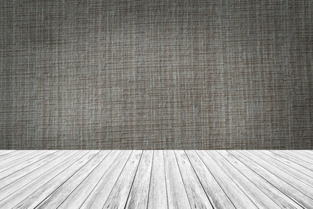 Wood terrace and Fabric texture background surface natural color Stock Photo