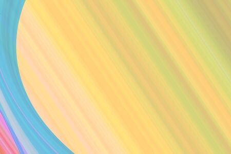 Wave illustration art abstract background Stock Photo