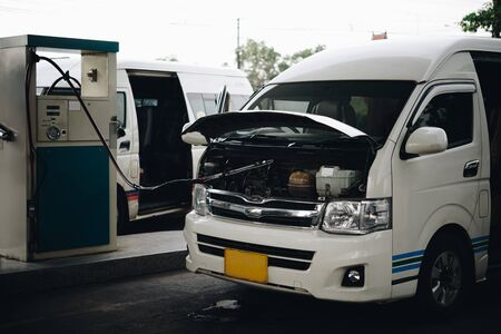 Petrol station or Gas station are available throughout the country service for van and drive the passenger industry the country's transportation sector