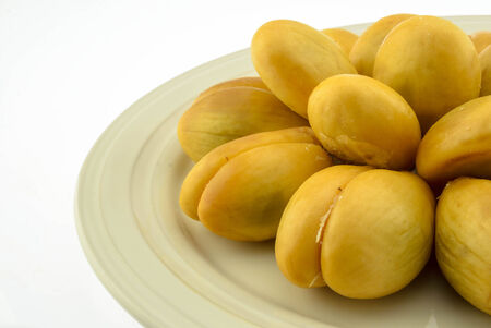 Salacca or zalacca tropical fruit photo